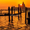 Sunset over Santa Maria Della Salute