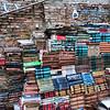 The Book Staircase, Acqua Alta Bookshop, Venice