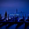 A foggy dawn in Venice overlooking Isola San Giorgio