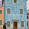 Blue house, Burano, Venice