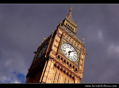 UK - England - London - Big Ben - One of London's best-known landmarks - Clock tower - The great bell of the clock at the north end of the Palace of Westminster in London   Camera Model: Canon EOS 5D Mark II; Lens: 28.00 - 300.00 mm; Focal length: 65.00 mm; Aperture: 10; Exposure time: 1/250 s; ISO: 125