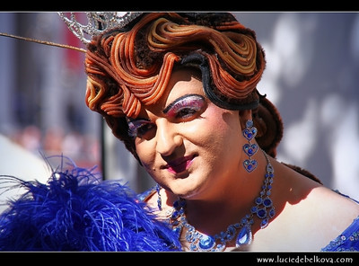 UK - England - London - Trafalgar Square - Pride London Festival   Camera Model: Canon EOS 5D Mark II; Lens: 28.00 - 300.00 mm; Focal length: 300.00 mm; Aperture: 7.1; Exposure time: 1/400 s; ISO: 250