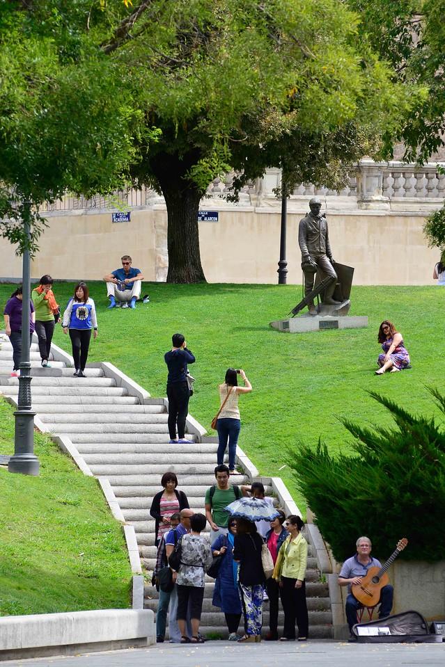 Grounds of Museo del Prado