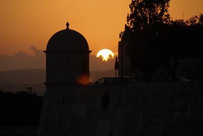 Sunset, Valletta