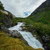 Øvstefossen Waterfall, Hjelle, Norway