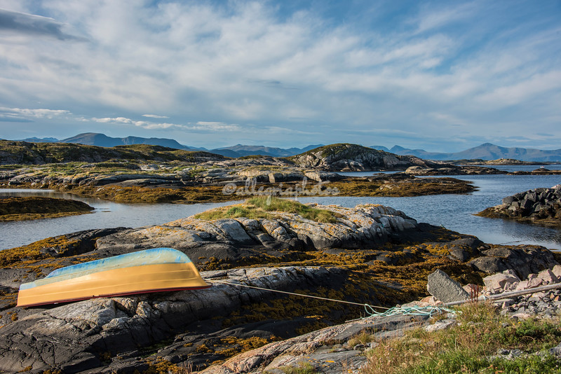 """On the rocks"" ,  veroy, Norway"