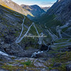 The Trolls Road (Trollstigen), Norway,  with its 11 hairpin bends