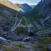 The Trolls Road (Trollstigen), Norway,  with its 11 hairpin bends