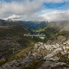 View from the Dalsnibba Mountain Lookout, Norway