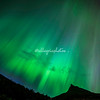Northern Lights as seen in Geiranger, Norway