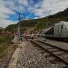 Train station in Myrdal, Norway