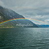 Rainbow on Sognefjord, Norway
