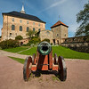 Cannon at Akershus Castle, Oslo