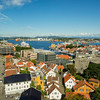 Aerial view of Stavanger, Norway