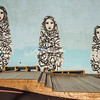 """Three ladies"",  Street Art, Stavanger, Norway"