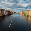 Colored Wooden Houses, Trondheim, Norway