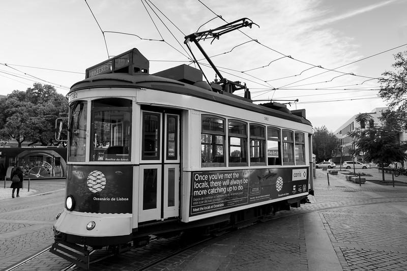 Cable car, Sao Paulo, Lisbon, Portugal