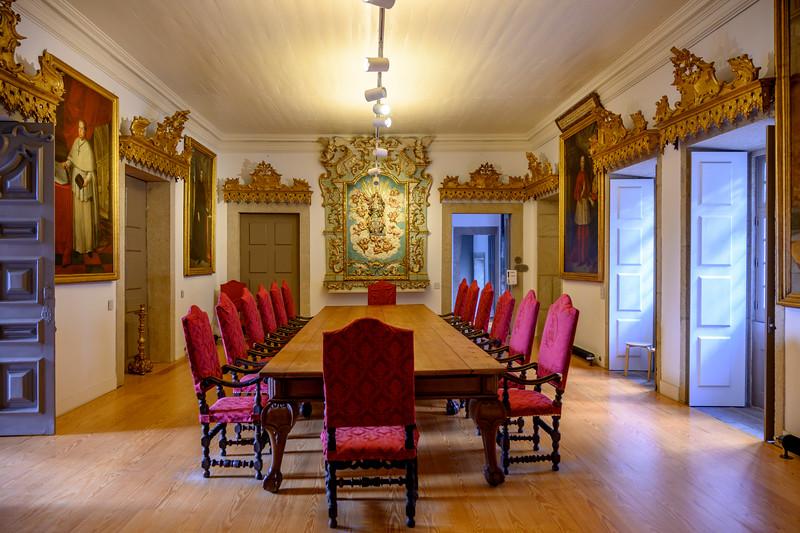 Dining room in Clerigos Church, Vitoria, Porto, Northern Portugal, Portugal