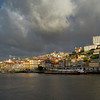 City  along the waterfront, Douro River, Porto, Portugal