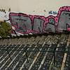 Public Art covering a staircase wall, Santiago, Lisbon, Portugal