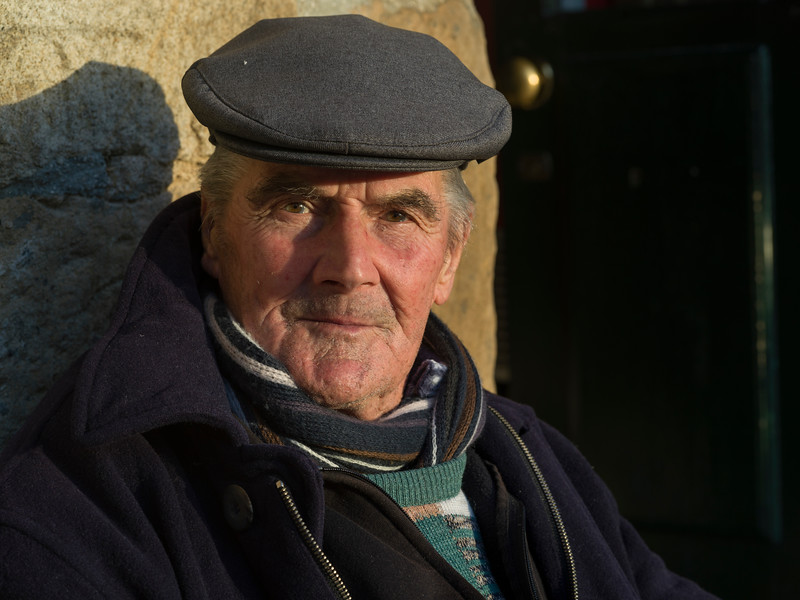 Portrait of elderly man, Salzedas, Tarouca, Douro Valley, Viseu District, Portugal