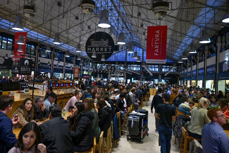 Time Out Market, Mercado da Ribeira, Sao Paulo, Lisbon, Portugal
