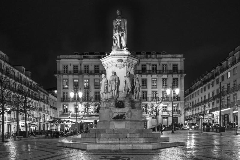 Monument to Luis de Cam�es,�Encarnacao, Lisboa Region, Portugal