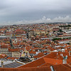 Aerial View of a city, Castelo, Lisbon, Portugal