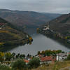 Town at riverbank, Douro River, Douro Valley, Portugal