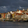 Boats in Douro River, Porto, Portugal