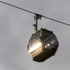 Low angle view of overhead cable car, Santa Marinha, Ribeira De Pena, Porto, Portugal