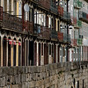 Houses in a row, Sao Nicolau, Porto, Portugal