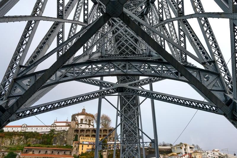 Dom Luis I Bridge, River Douro, Porto, Northern Portugal, Portugal