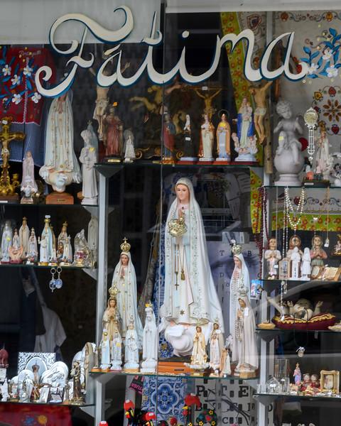Religious figurines, Fatima, Ourem Municipality, Santarem District, Portugal