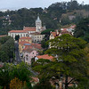 Elevated view of town, Sintra, Lisbon, Portugal