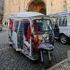 Auto rickshaws, Lisbon Cathedral, Lisbon, Portugal