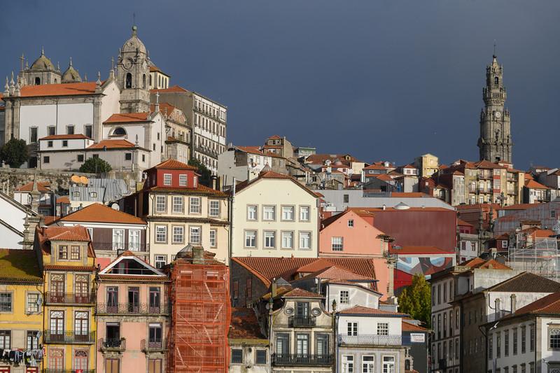 Buildings in a city, Santa Marinha, Ribeira De Pena, Porto, Portugal