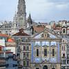 Elevated view of city, Se do Porto, Portugal