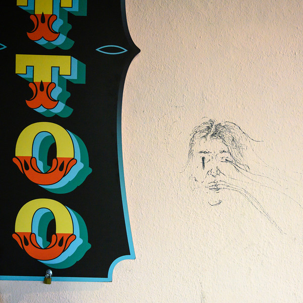 Graffiti on wall, Encarnacao, Lisbon, Portugal