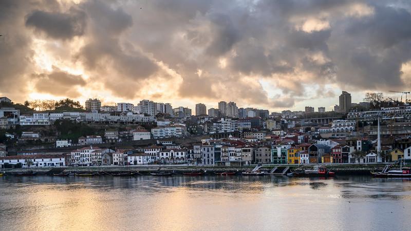 Boats in the Douro River, Porto, Portugal