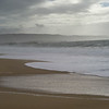 Scenic view of the beach, Nazare, Portugal