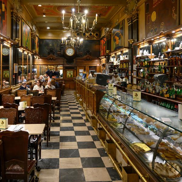 Interiors of restaurant, Sacramento, Lisbon, Portugal