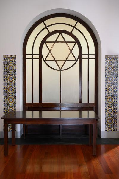 Interiors of Synagogue, Kadoorie Synagogue, Massarelos, Porto, Portugal