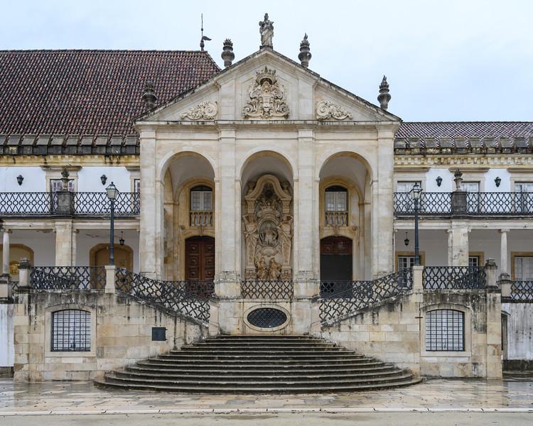 Coimbra University Courtyard, Coimbra, Coimbra District, Portugal
