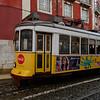 Cable car, Alfama, Sao Miguel, Lisbon, Portugal