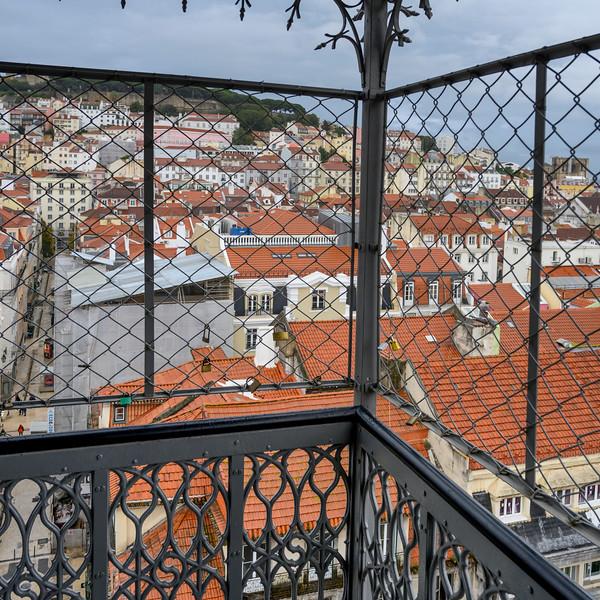Santa Justa Lift, Santa Justa, Lisbon, Portugal