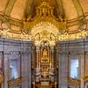 Interiors of church, Clerigos Church, Vitoria, Porto, Northern Portugal, Portugal