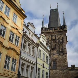 Old Town Bridge Tower at Charles Bridge, Prague, Czech Republic