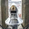 Close-up of coin-operated binocular, Old Town Hall, Old Town Square, Old Town, Prague, Czech Republic