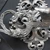 Detail of door ornament, Prague, Czech Republic